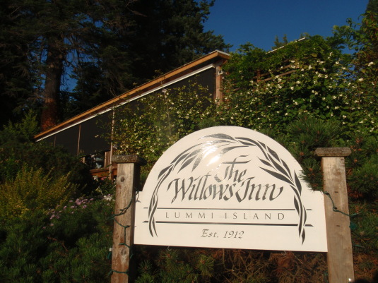 Outside the Willows Inn