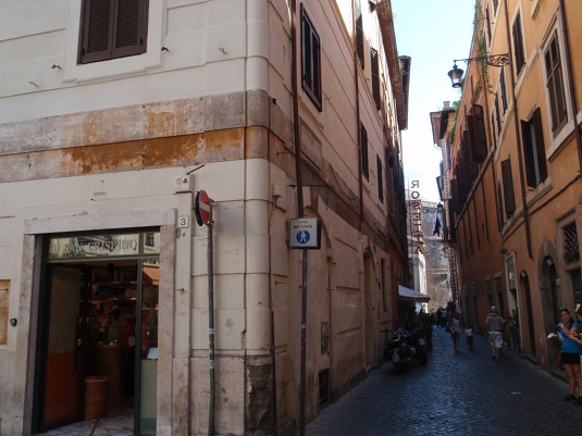 Il Gelato Di San Crispino makes a great stop after a visit to the Pantheon.