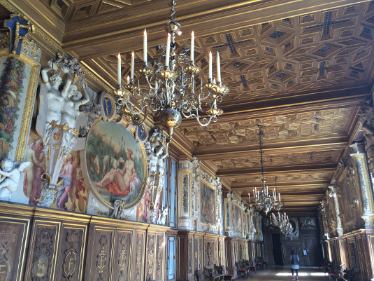 The Francis I Gallery was built during the Renaissance.