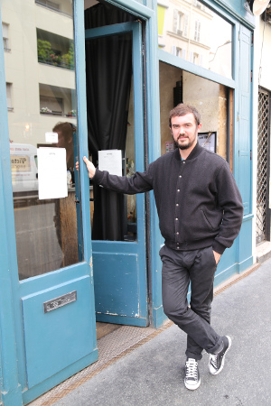 Bertrand Grébaut, Septime's head chef.