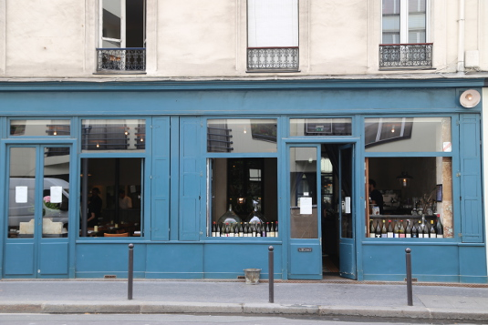 Image of the restaurant Septime in Paris