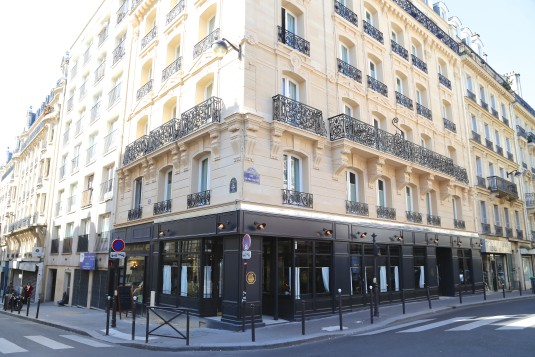The Grand PIgalle is located in a classic Parisian building.