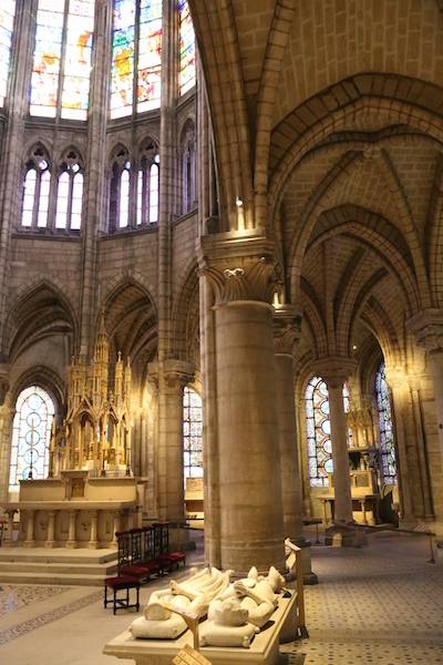 Image of the Basilica of Saint-Denis in Paris