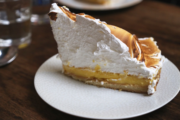 Image of lemon pie at Le Loir Dans la Théière in Paris