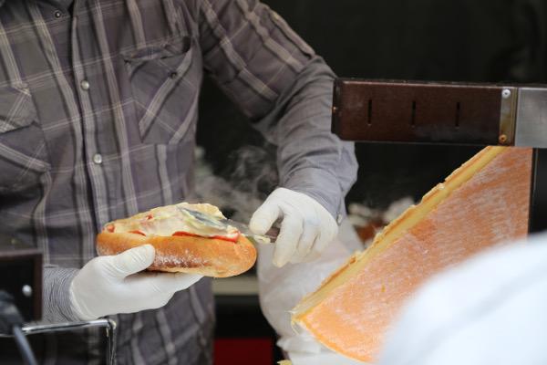 Raclette Sandwiches
