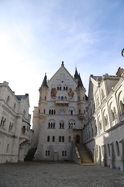 Unfortunately you can not take photographs inside Neuschwanstein castle, but there is plenty to photograph outside.