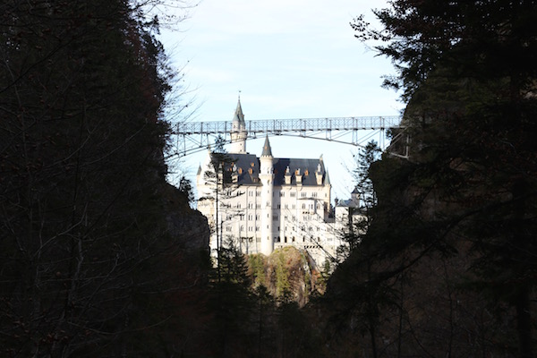 Neuschwanstein is beautiful from every angle.