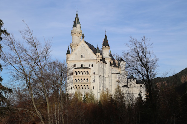 Work on Neuschwanstein Castle started in 1868.