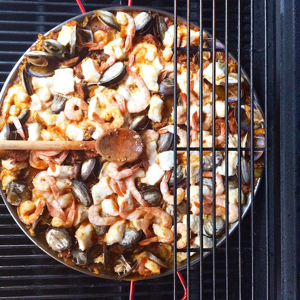 This paella was one of my favorite meals of the summer.