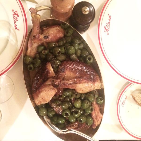 Allard serves up French comfort food.