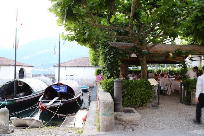 Image of the terrace at Alle Darsene di Loppia