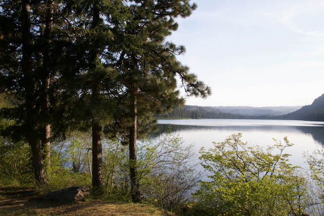 Image of Suttle Lake near Bend, Oregon