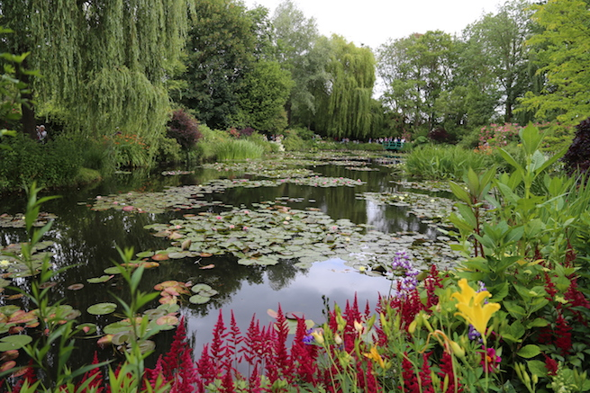 Image of the Water Garden at Giverny