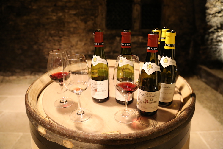 Image of Domaine Drouhin wines.