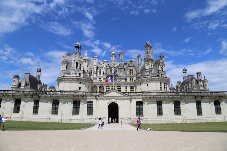 Image of Château de Chambord in the Loire Valley