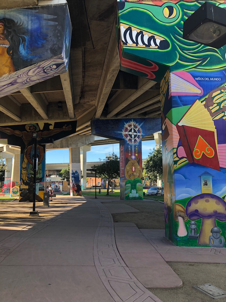 Image of Chicano Park in San Diego