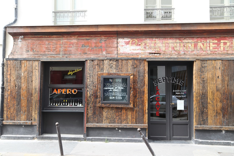 Image of the wine bar Septime La Cave in Paris