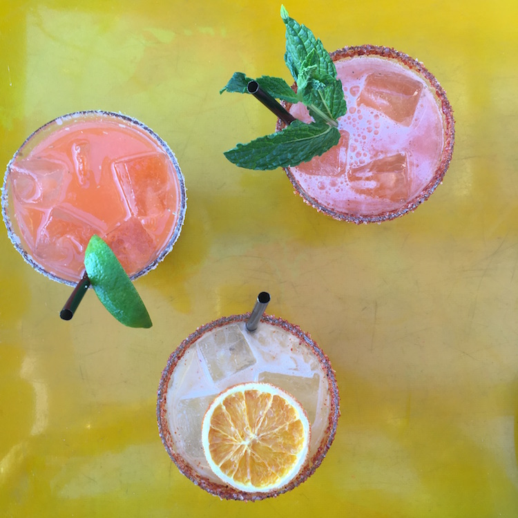 Image of margaritas at Galaxy Taco in La Jolla