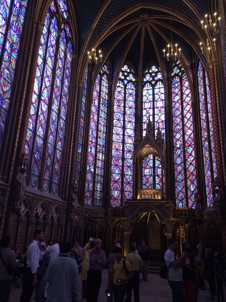 Image of Sainte-Chapelle in Paris