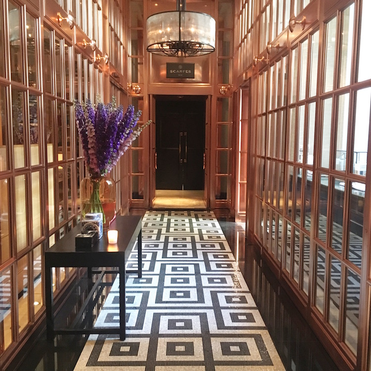 Image of the foyer at the Rosewood, one of the best places to stay in London