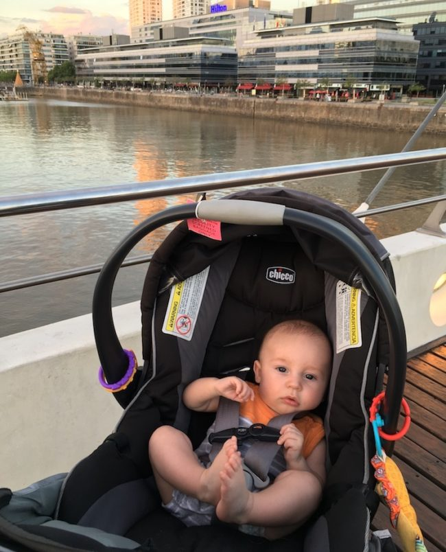Traveling with a baby in Buenos Aires