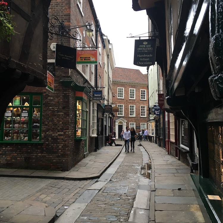 Image of the Shambles in York, England