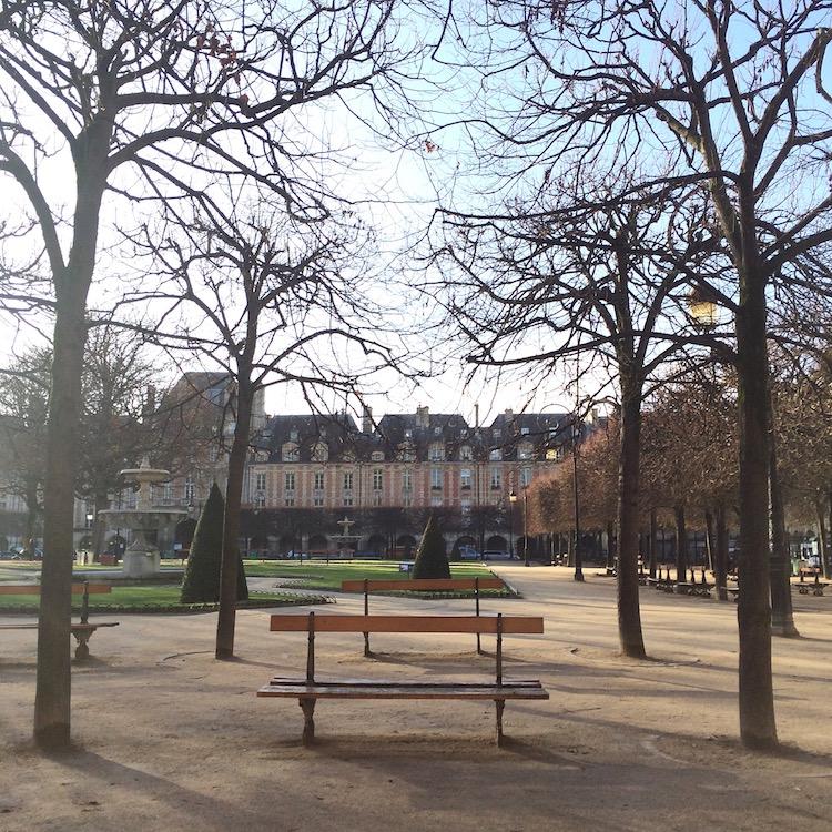 Place des Vosges in Paris