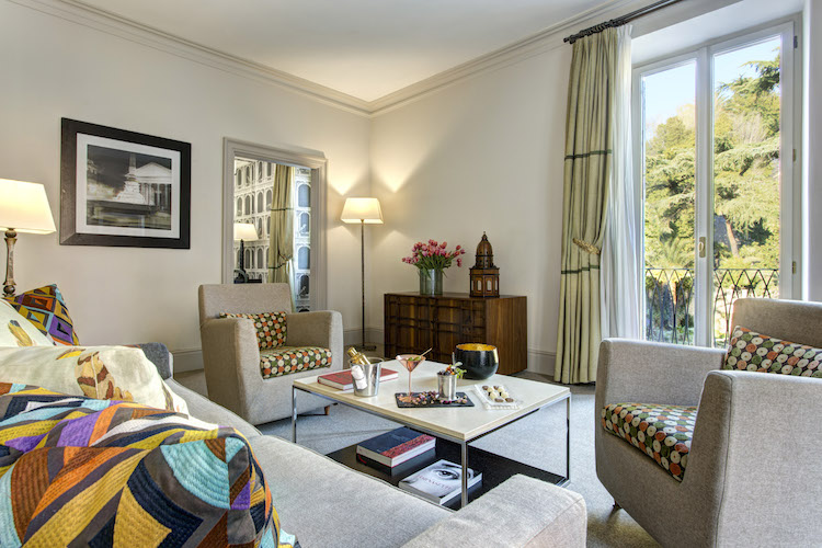 An Executive Suite at Hotel de Russie