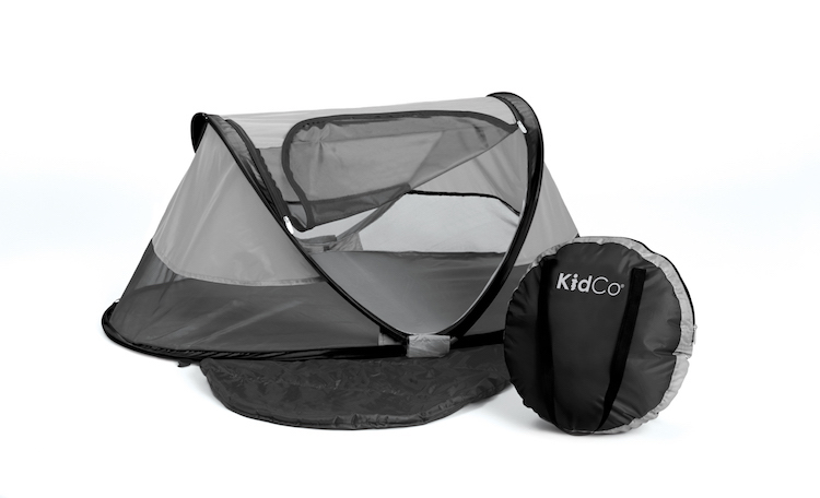 Image of KidCo PeaPod Infant Travel Bed in midnight