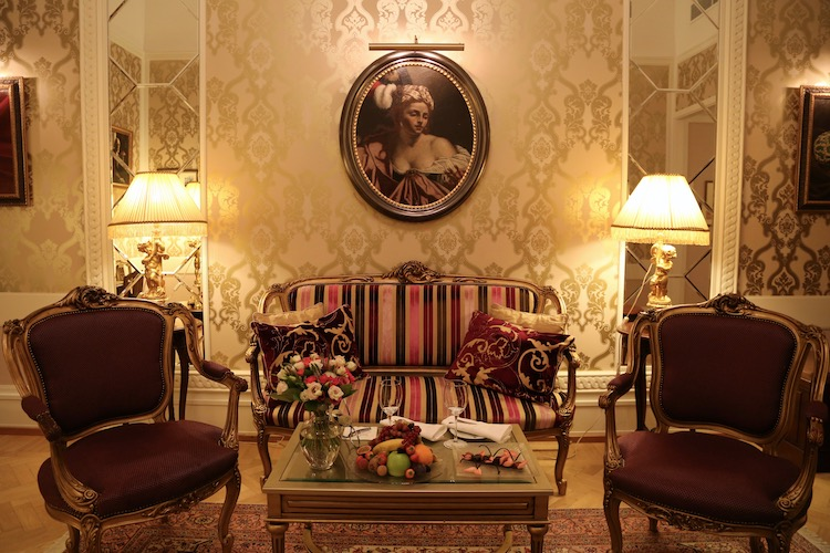 Image of the Fabergé Suite at the Belmond Grand Hotel Europe in Saint Petersburg
