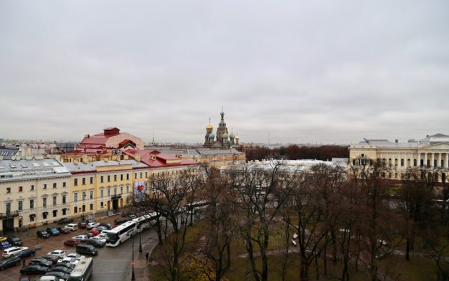 Image of Saint Petersburg from the top of the Belmond Grand Hotel Europe