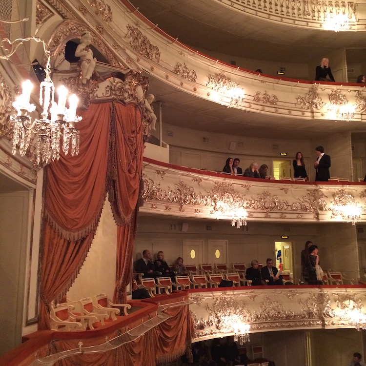 Image of the Mikhailovsky Theatre in Saint Petersburg