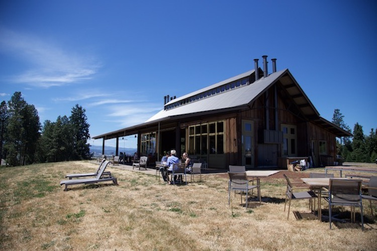 Image of the Tasting Room at Soter Vineyards in the Willamette Valley