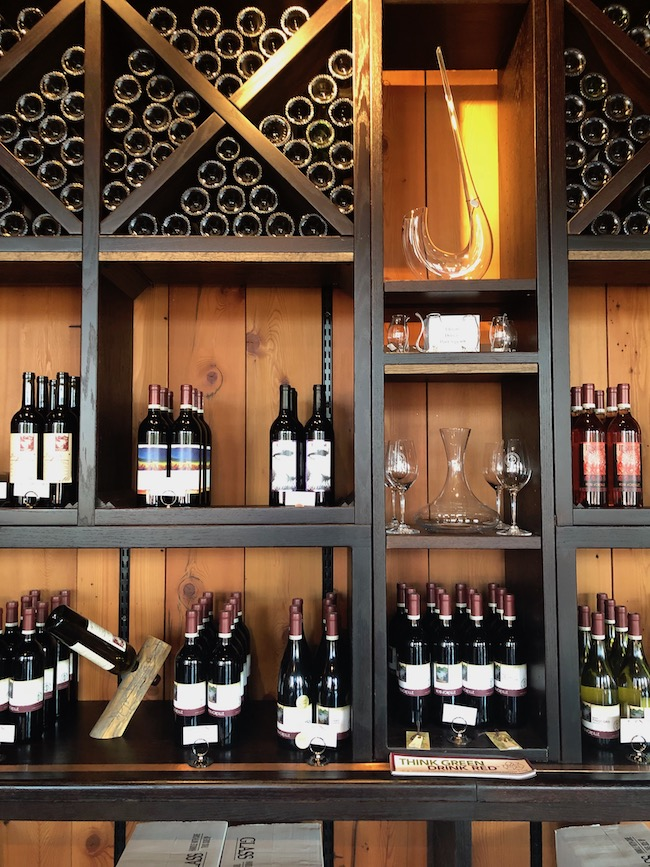 Image of wine bottles for sale at Pend d'Oreille Winery