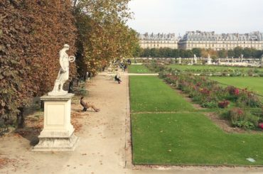 The Tuileries in Paris